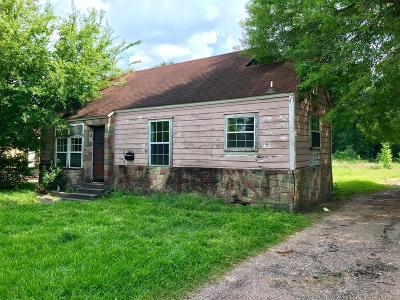 Houston Single Family Home For Sale: 5818 Crane Street