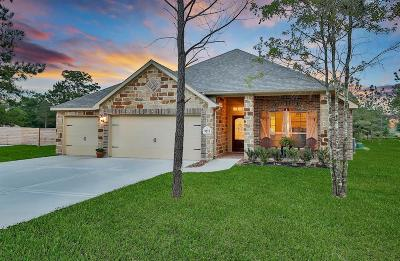 Conroe Single Family Home For Sale: 9211 Wapiti Trail