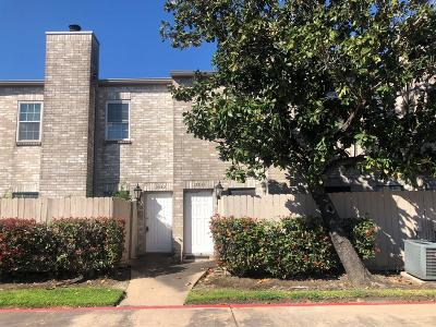 Houston Condo/Townhouse For Sale: 2842 Holly Hall Street #2842