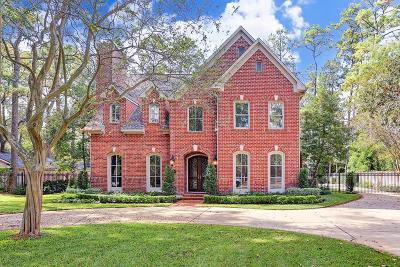 Bunker Hill Village Single Family Home For Sale: 305 Belin Manor Drive