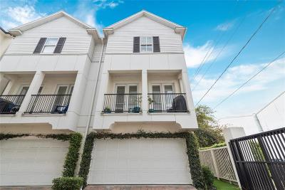 Houston Condo/Townhouse For Sale: 6625 Hurst Street