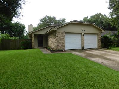 Bay City TX Single Family Home For Sale: $154,900