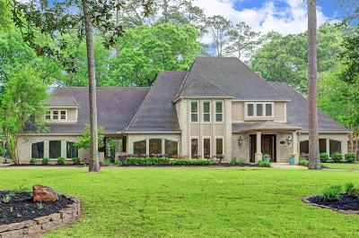 Houston Single Family Home For Sale: 4 Forest Shores Drive