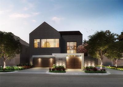 Houston Single Family Home For Sale: 2410 Kingston Street
