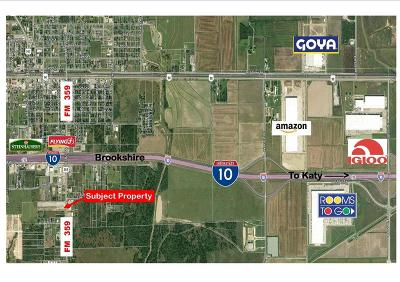 Brookshire Residential Lots & Land For Sale: 518 Fm 359 Road S