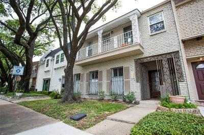 Houston Condo/Townhouse For Sale: 8606 Oakford Drive