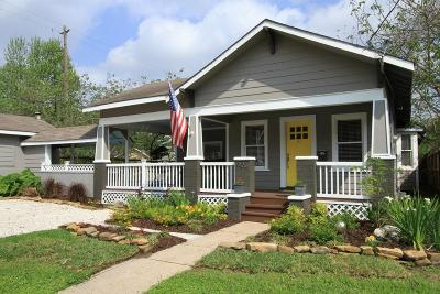Houston Single Family Home For Sale: 903 E Gibbs