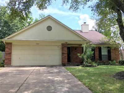 Sugar Land Single Family Home For Sale: 2603 Woodstream Boulevard