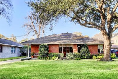 Houston Single Family Home For Sale: 3510 Norris Drive