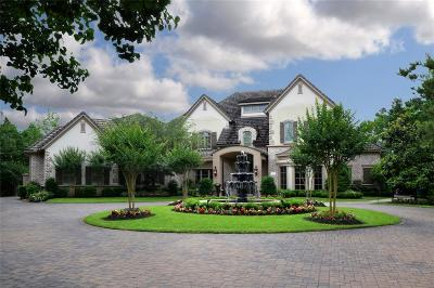 The Woodlands TX Single Family Home For Sale: $3,395,000