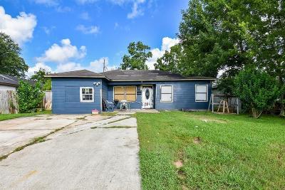 Houston Single Family Home For Sale: 1426 Christine Street