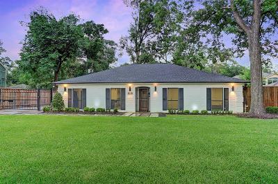 Houston Single Family Home For Sale: 1614 Hillendahl Boulevard