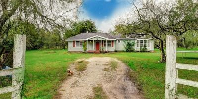 Austin County Single Family Home For Sale: 1326 Mesquite Rd
