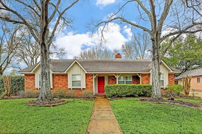 Meyerland Single Family Home For Sale: 5350 Yarwell Drive