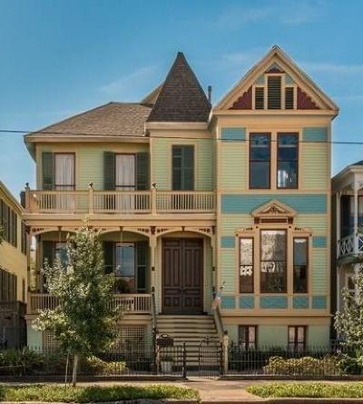 Galveston Single Family Home For Sale: 1819 Ball Street