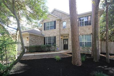 Conroe Single Family Home For Sale: 30 Misty Canyon Place