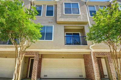 Houston TX Condo/Townhouse For Sale: $1,750