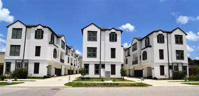 Houston Condo/Townhouse For Sale: 917 W 17th Street W #C