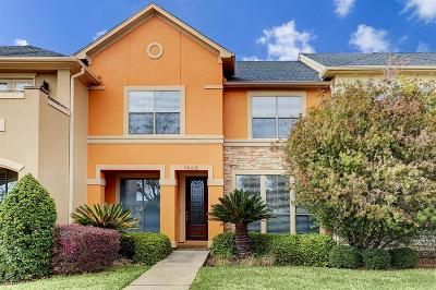 Houston Condo/Townhouse For Sale: 1903 Palm Forest Lane