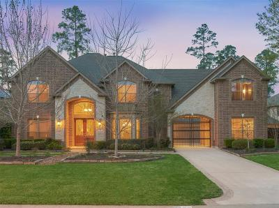 The Woodlands TX Single Family Home For Sale: $765,000