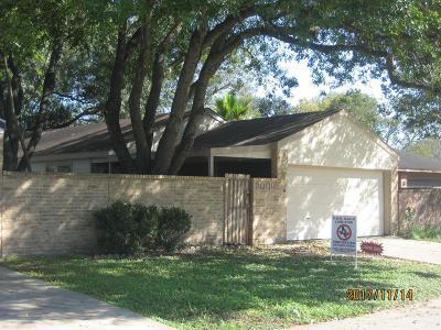 Rosenberg Single Family Home For Sale: 2009 Tremont Court