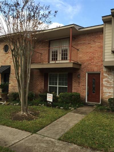 Houston TX Condo/Townhouse For Sale: $122,000