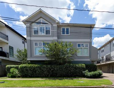 Houston Single Family Home For Sale: 3505 Bradford Street #A