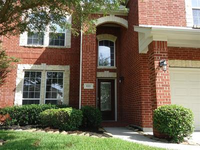 Tomball Single Family Home For Sale: 8318 Point Pendleton Drive