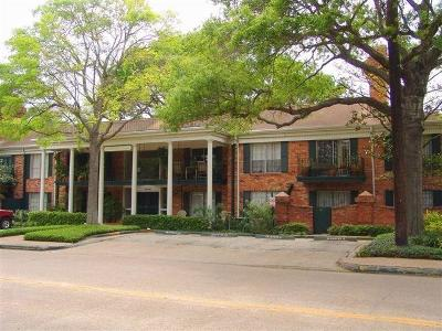 Harris County Condo/Townhouse For Sale: 3400 Timmons Lane #28