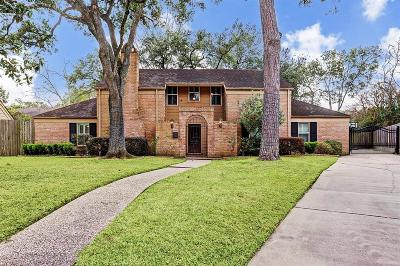 Briargrove Park Single Family Home For Sale: 10223 Briar Rose Drive
