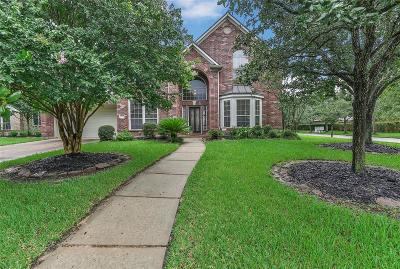 Tomball Single Family Home For Sale: 12407 Lake Vista Drive