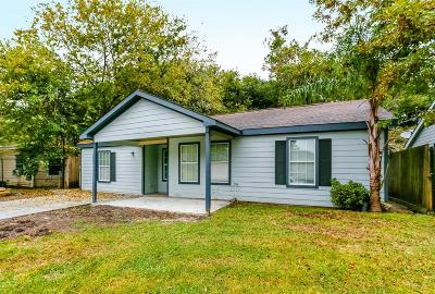 Houston Single Family Home For Sale: 8771 Flossie Mae Street