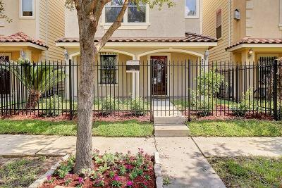 Houston Condo/Townhouse For Sale: 2206 Colorado Street