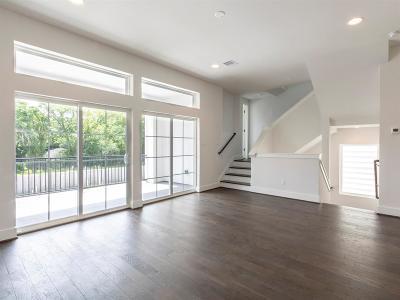 Houston Single Family Home For Sale: 1515 Weber Street #B