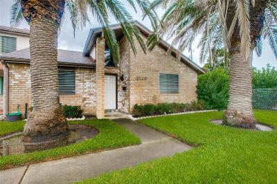 Galveston Condo/Townhouse For Sale: 3128 Orleans Place