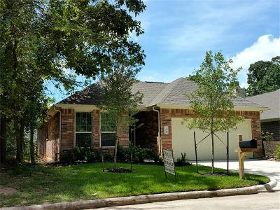 Montgomery Single Family Home For Sale: 12939 Shady Grove