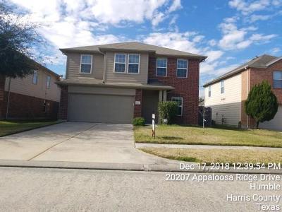 Humble Single Family Home For Sale: 20211 Appaloosa Ridge Drive