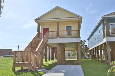 Galveston Single Family Home For Sale: 3415 Winnie