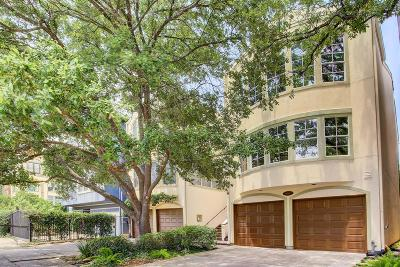 Houston Condo/Townhouse For Sale: 6314 Pickens Street #A