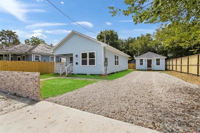 Houston Single Family Home For Sale: 128 Amundsen Street