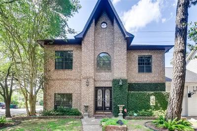 Houston Single Family Home For Sale: 1528 Vassar Street