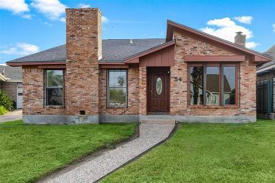 Galveston Single Family Home For Sale: 54 Campeche Circle