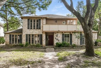 Houston Single Family Home For Sale: 302 Pinesap Drive