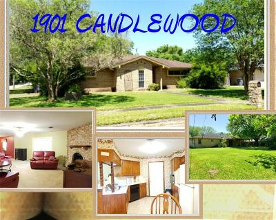 Bay City Single Family Home For Sale: 1901 Candlewood Drive