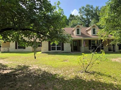 Conroe Single Family Home For Sale: 18525 Possum Trot