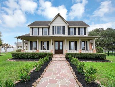 Tomball Single Family Home For Sale: 21415 Cedar Lane