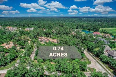 The Woodlands Residential Lots & Land For Sale: 11 Cluny Court