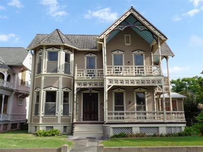 Galveston Single Family Home For Sale: 1718 Church Street