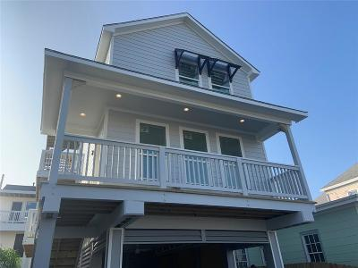 Galveston Single Family Home For Sale: 911 Winnie