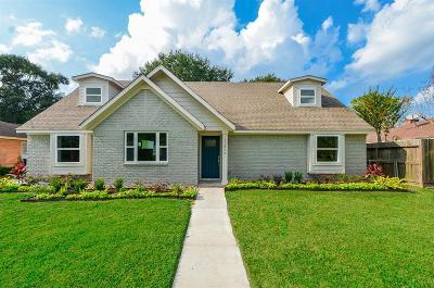 Houston Single Family Home For Sale: 10810 Endicott Lane